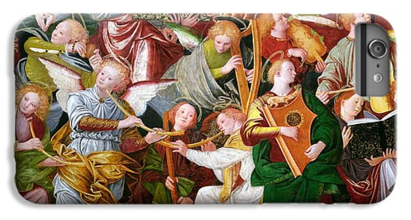 Trumpet iPhone 7 Plus Case - The Concert Of Angels by Gaudenzio Ferrari
