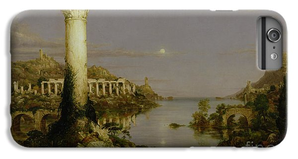 The Moon iPhone 7 Plus Case - The Course Of Empire - Desolation by Thomas Cole