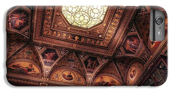 IPhone 7 Plus Case featuring the photograph The East Room Ceiling by Jessica Jenney