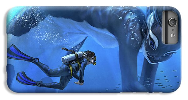 Marine iPhone 7 Plus Case - The Encounter by Aaron Blaise
