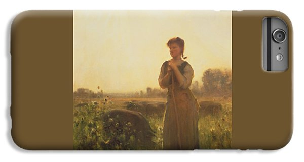 The Farm Girl IPhone 7 Plus Case by Arthur Hacker
