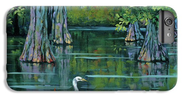 Crane iPhone 7 Plus Case - The Fisherman by Dianne Parks
