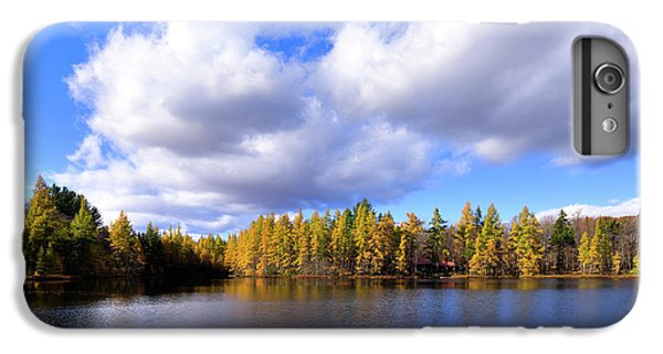 IPhone 7 Plus Case featuring the photograph The Golden Forest At Woodcraft by David Patterson