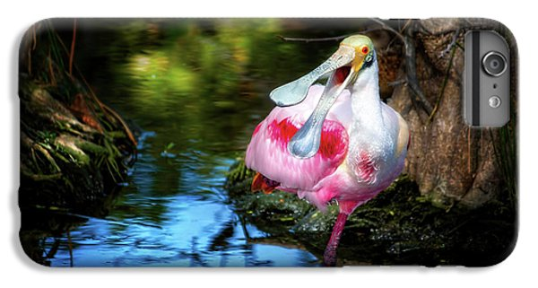 The Happy Spoonbill IPhone 7 Plus Case