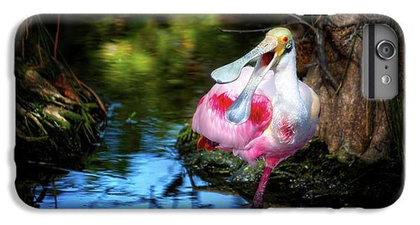 The Happy Spoonbill IPhone 7 Plus Case by Mark Andrew Thomas