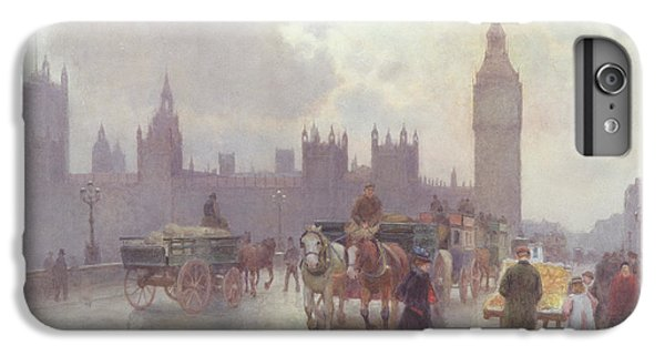 London iPhone 7 Plus Case - The Houses Of Parliament From Westminster Bridge by Alberto Pisa
