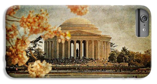 Jefferson Memorial iPhone 7 Plus Case - The Jefferson Memorial by Lois Bryan