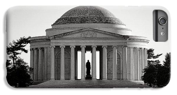 Jefferson Memorial iPhone 7 Plus Case - The Jefferson Memorial  by Olivier Le Queinec