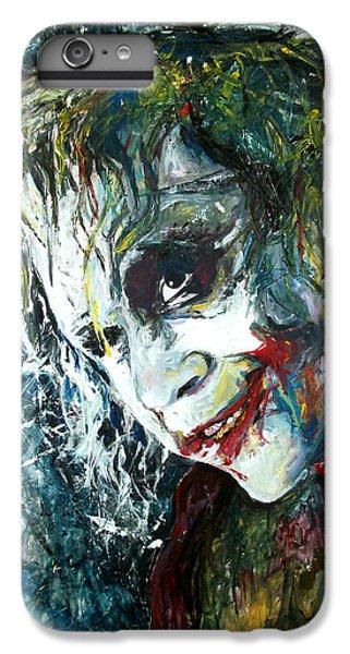 Heath Ledger iPhone 7 Plus Case - The Joker - Heath Ledger by Marcelo Neira