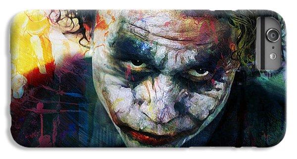 Heath Ledger iPhone 7 Plus Case - The Joker by Mal Bray