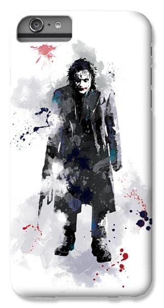 Heath Ledger iPhone 7 Plus Case - The Joker by Marlene Watson
