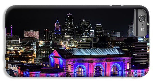 IPhone 7 Plus Case featuring the photograph The Kansas City Skyline by JC Findley