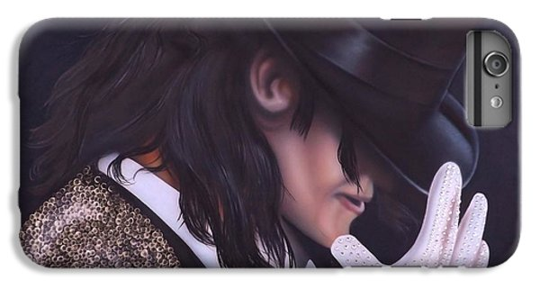 Michael Jackson iPhone 7 Plus Case - The King Of Pop by Darren Robinson