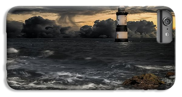 Puffin iPhone 7 Plus Case - The Lighthouse Storm by Adrian Evans