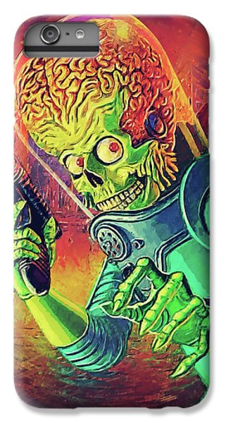 The Martian - Mars Attacks IPhone 7 Plus Case by Taylan Apukovska