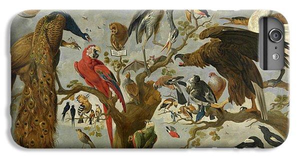 Meadowlark iPhone 7 Plus Case - The Mockery Of The Owl by Jan van Kessel