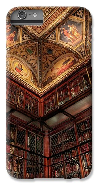 IPhone 7 Plus Case featuring the photograph The Morgan Library Corner by Jessica Jenney