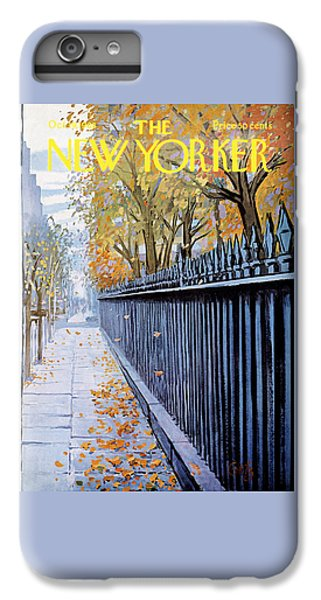 Broadway iPhone 7 Plus Case - Autumn In New York by Arthur Getz