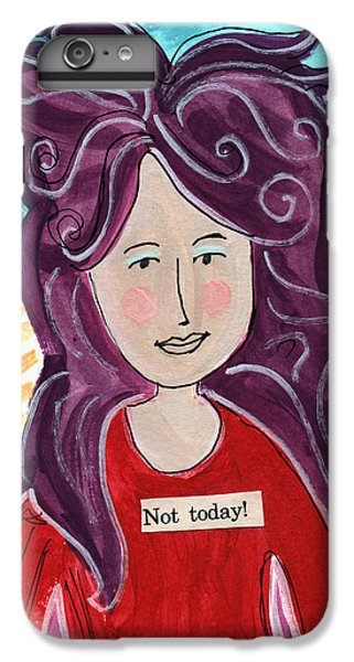 Fairy iPhone 7 Plus Case - The Not Today Fairy- Art By Linda Woods by Linda Woods