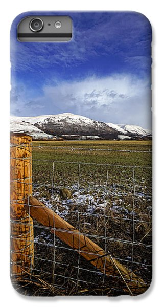 IPhone 7 Plus Case featuring the photograph The Ochils In Winter by Jeremy Lavender Photography