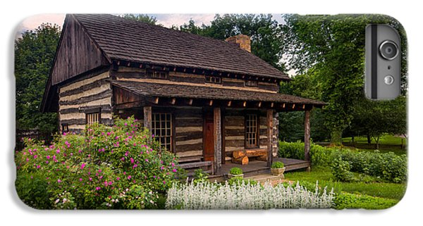 Beaver iPhone 7 Plus Case - The Old Log Home  by Emmanuel Panagiotakis