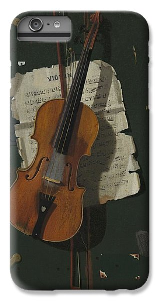 Violin iPhone 7 Plus Case - The Old Violin by John Frederick Peto