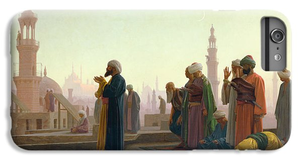 The Moon iPhone 7 Plus Case - The Prayer by Jean Leon Gerome