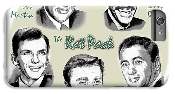 The Rat Pack IPhone 7 Plus Case by Greg Joens
