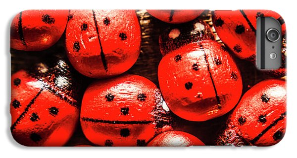 Ladybug iPhone 7 Plus Case - The Red Bug Out  by Jorgo Photography - Wall Art Gallery
