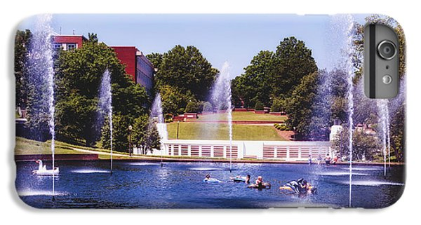 Clemson iPhone 7 Plus Case - The Reflection Pond - Clemson University by Library Of Congress