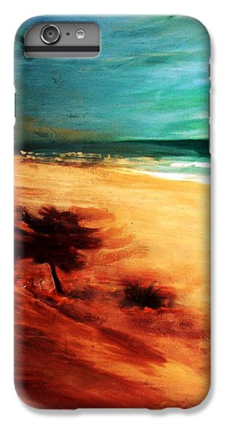 IPhone 7 Plus Case featuring the painting The Remaining Pine by Winsome Gunning