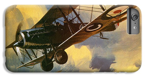Airplane iPhone 7 Plus Case - The Royal Flying Corps by Wilf Hardy