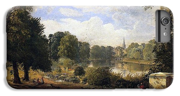 Hyde Park iPhone 7 Plus Case - The Serpentine by Jasper Francis Cropsey