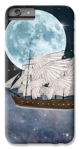 The Moon iPhone 7 Plus Case - The Star Harvesters by Bri Buckley