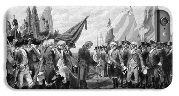 George Washington iPhone 7 Plus Case - The Surrender Of Cornwallis At Yorktown by War Is Hell Store
