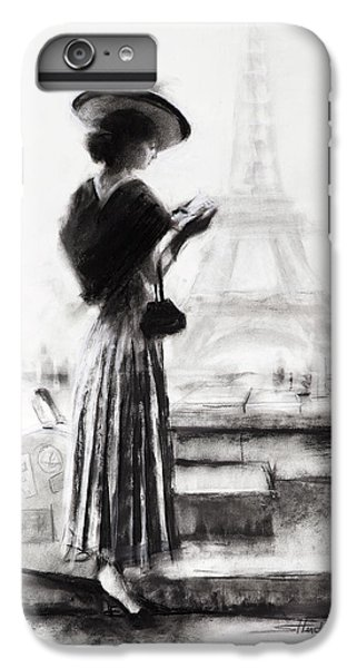 Eiffel Tower iPhone 7 Plus Case - The Traveler by Steve Henderson