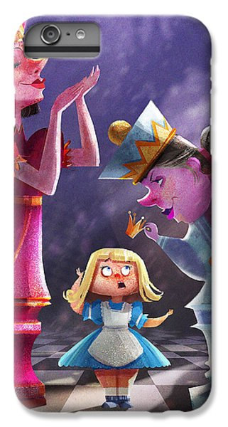 Fairy iPhone 7 Plus Case - The Two Queens, Nursery Art by Kristina Vardazaryan