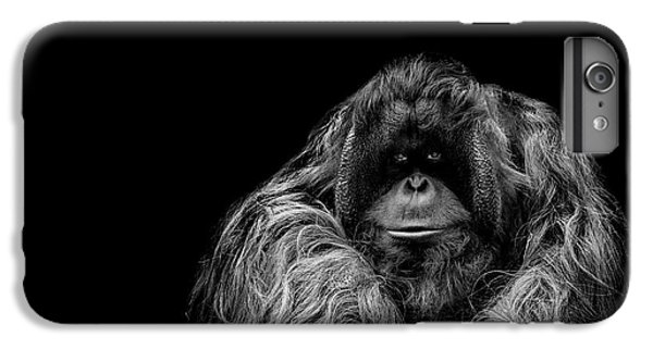 Orangutan iPhone 7 Plus Case - The Vigilante by Paul Neville