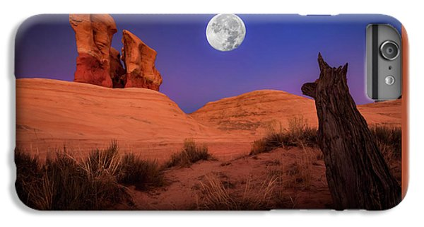The Moon iPhone 7 Plus Case - The Watcher by Edgars Erglis