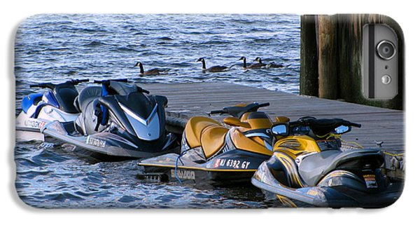 Jet Ski iPhone 7 Plus Case - The Yellow Jet Ski by Colleen Kammerer