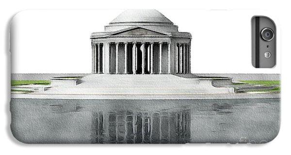 Jefferson Memorial iPhone 7 Plus Case - Thomas Jefferson Memorial, Washington by John Springfield