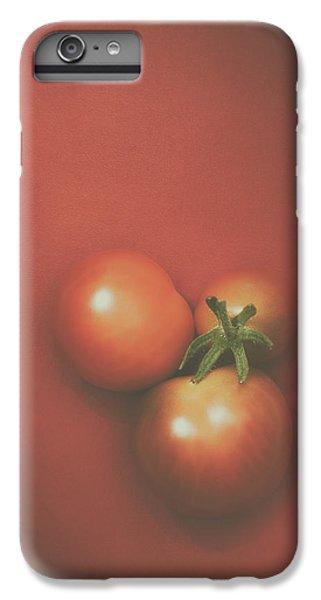 Three Cherry Tomatoes IPhone 7 Plus Case by Scott Norris