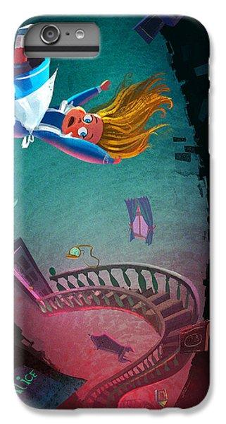 Fairy iPhone 7 Plus Case - Through The Rabbit Hole by Kristina Vardazaryan