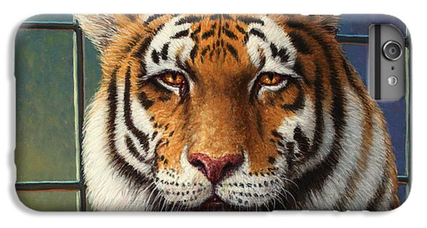 Tiger iPhone 7 Plus Case - Tiger In Trouble by James W Johnson