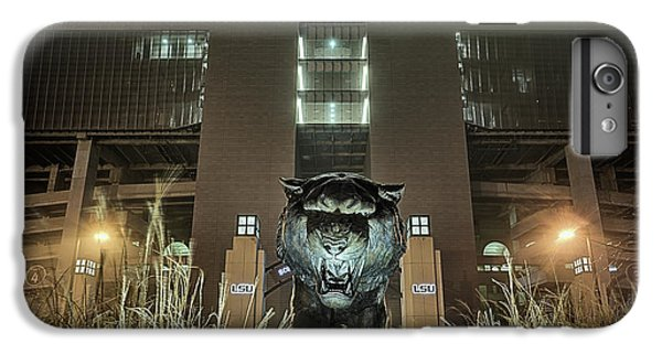 IPhone 7 Plus Case featuring the photograph Tiger Stadium On Saturday Night by JC Findley