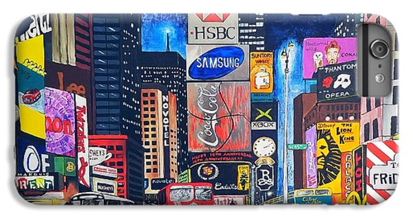 Times Square IPhone 7 Plus Case by Autumn Leaves Art