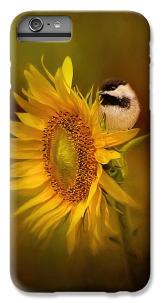 Tiny Surprise Bird Art IPhone 7 Plus Case by Jai Johnson