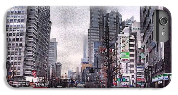 Tokyo Cloudy IPhone 7 Plus Case by Moto Moto
