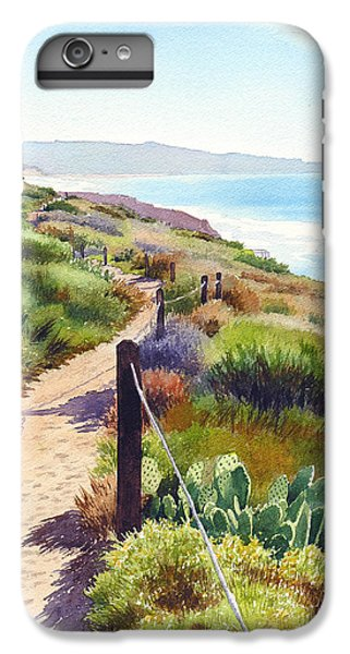 Planets iPhone 7 Plus Case - Torrey Pines Guy Fleming Trail by Mary Helmreich