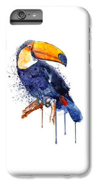 Toucan iPhone 7 Plus Case - Toucan by Marian Voicu